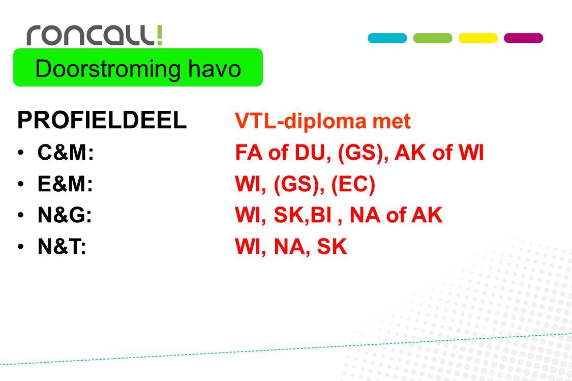 PROFIELDEEL VTL-diploma met
