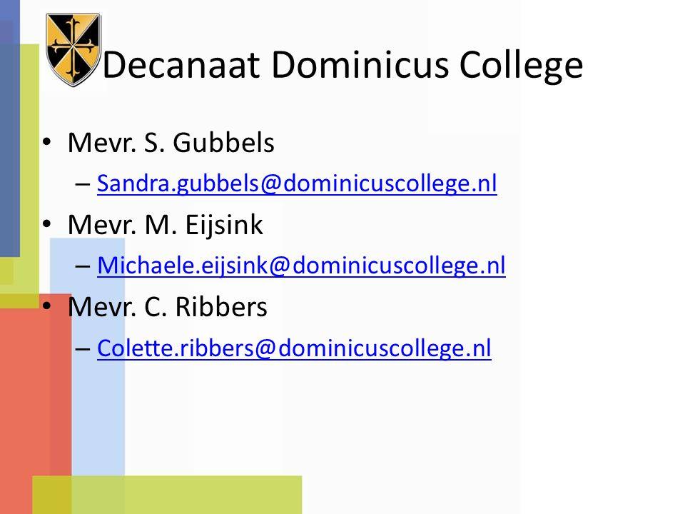 Decanaat Dominicus College