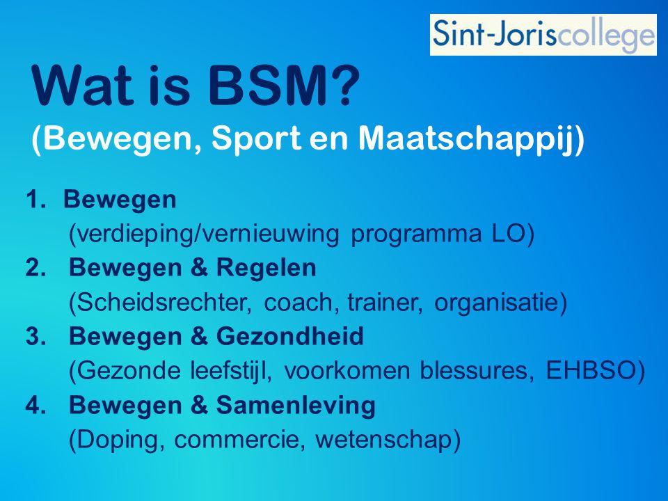 Wat is BSM (Bewegen, Sport en Maatschappij)