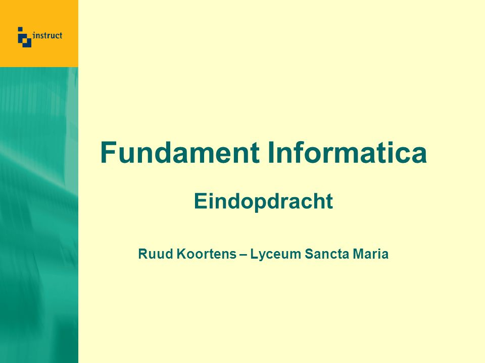 Fundament Informatica