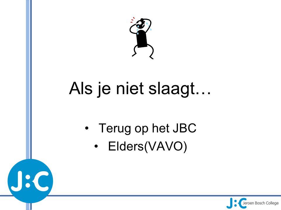 Terug op het JBC Elders(VAVO)
