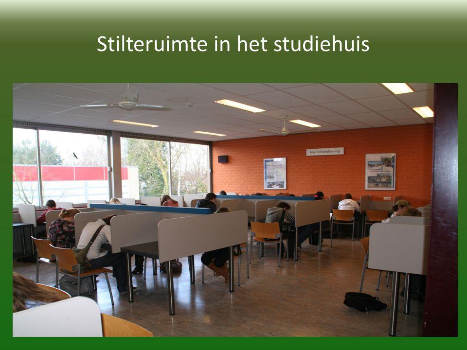 Stilteruimte in het studiehuis