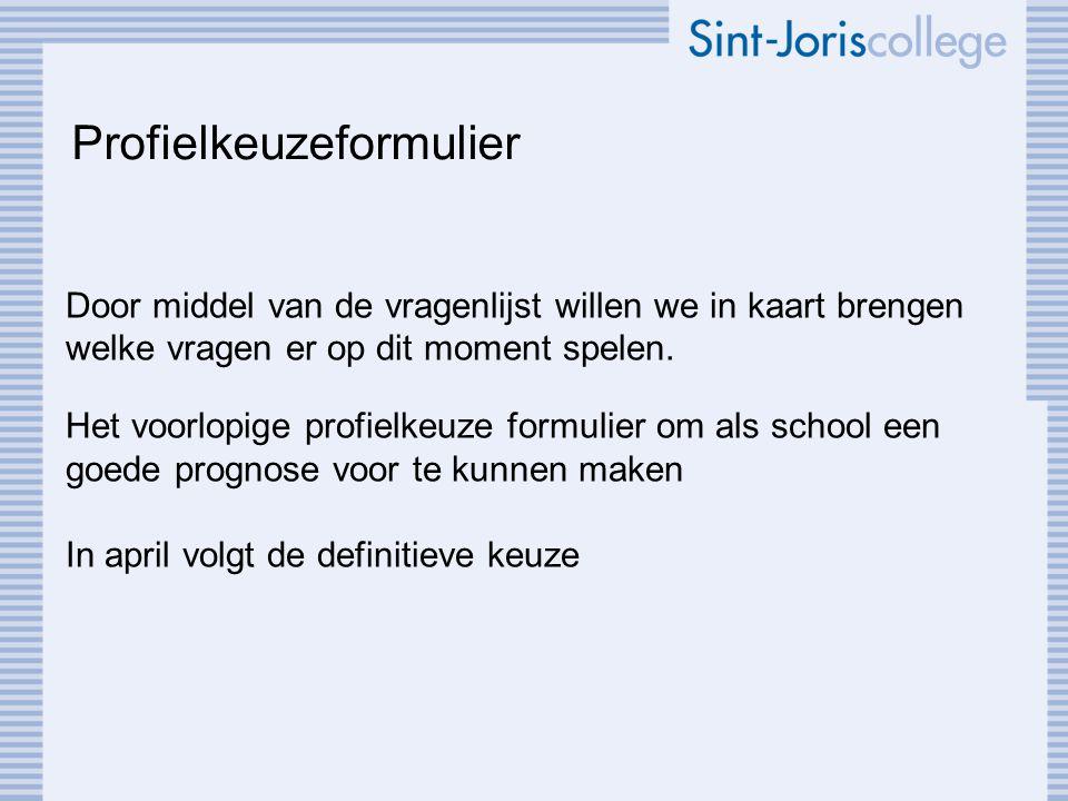 Profielkeuzeformulier