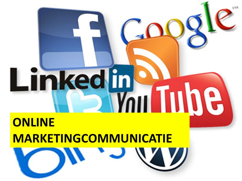 ONLINE MARKETINGCOMMUNICATIE