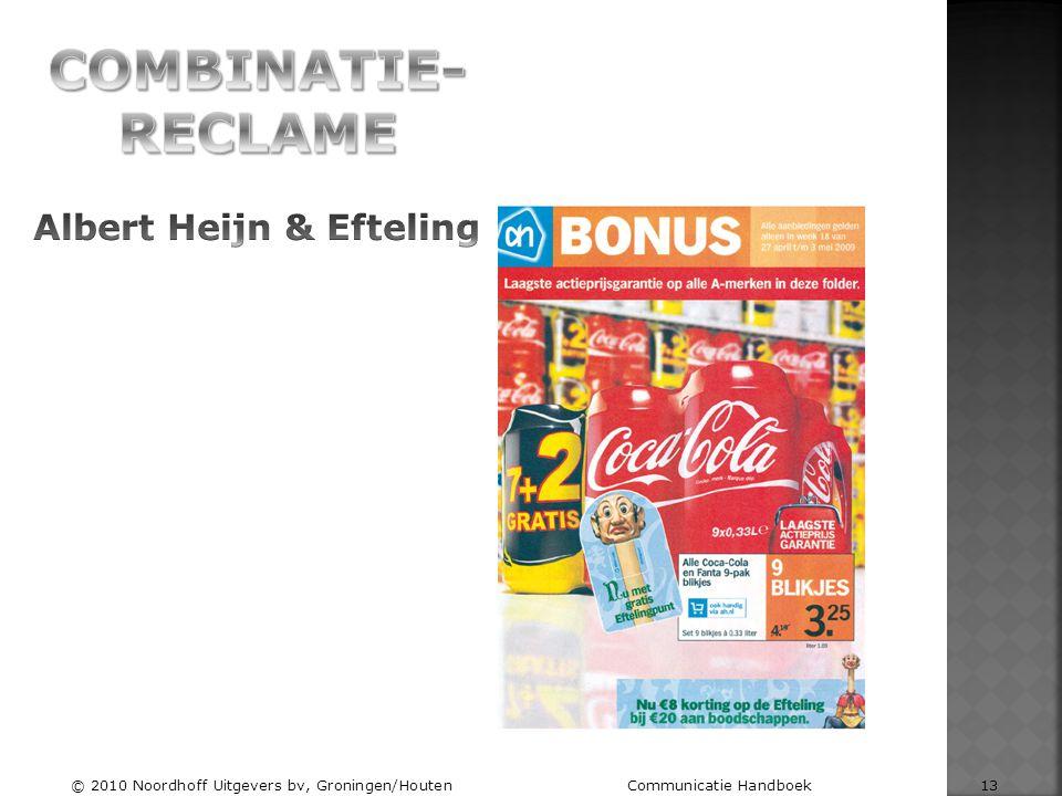 COMBINATIE-RECLAME Albert Heijn & Efteling