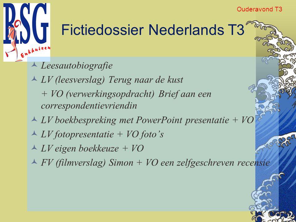 Fictiedossier Nederlands T3