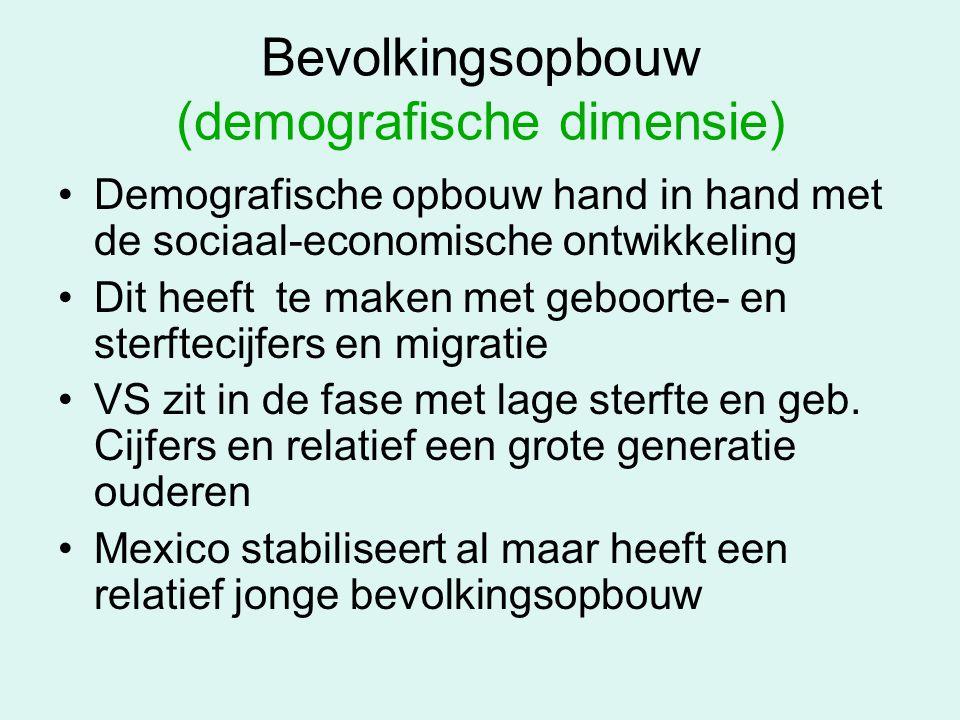Bevolkingsopbouw (demografische dimensie)