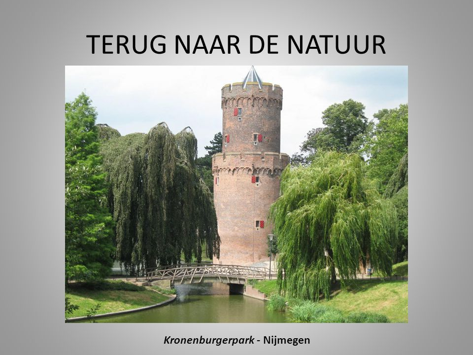 Kronenburgerpark - Nijmegen