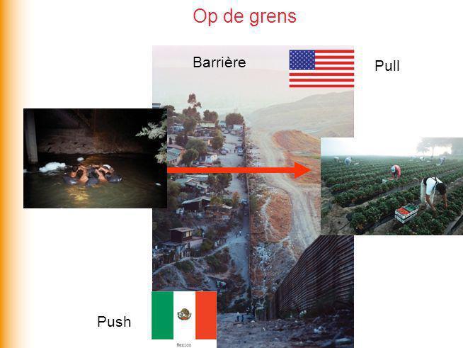 Op de grens Barrière Pull Push
