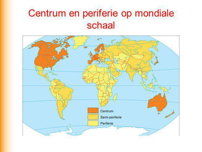 Centrum en periferie op mondiale schaal