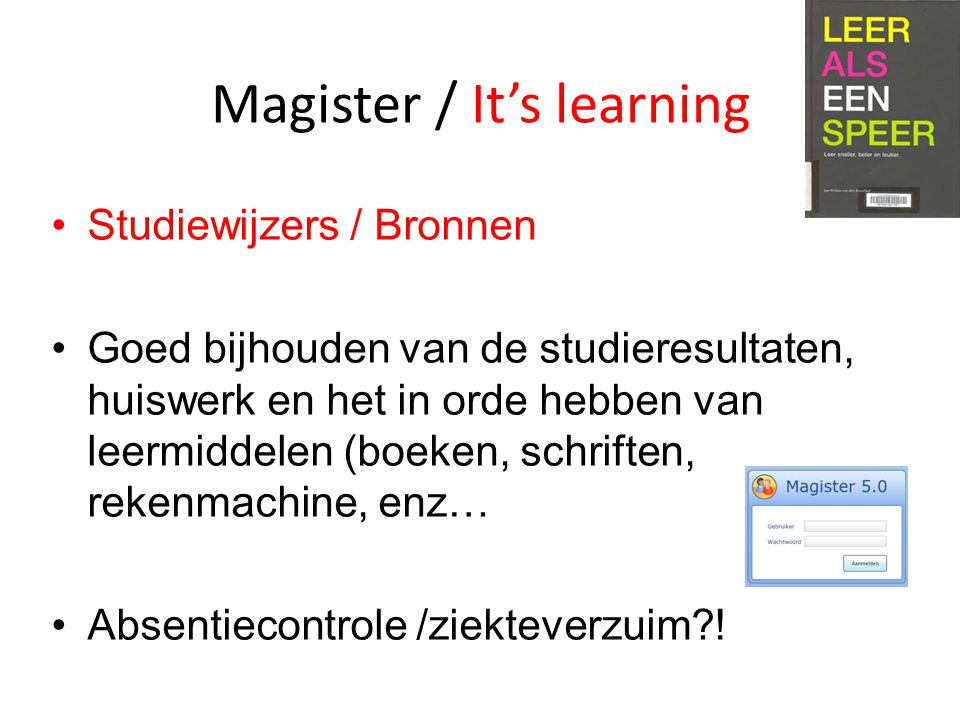 Magister / It's learning