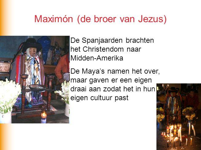 Maximón (de broer van Jezus)