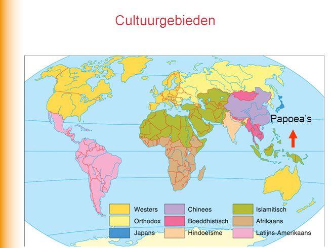 Cultuurgebieden Papoea's