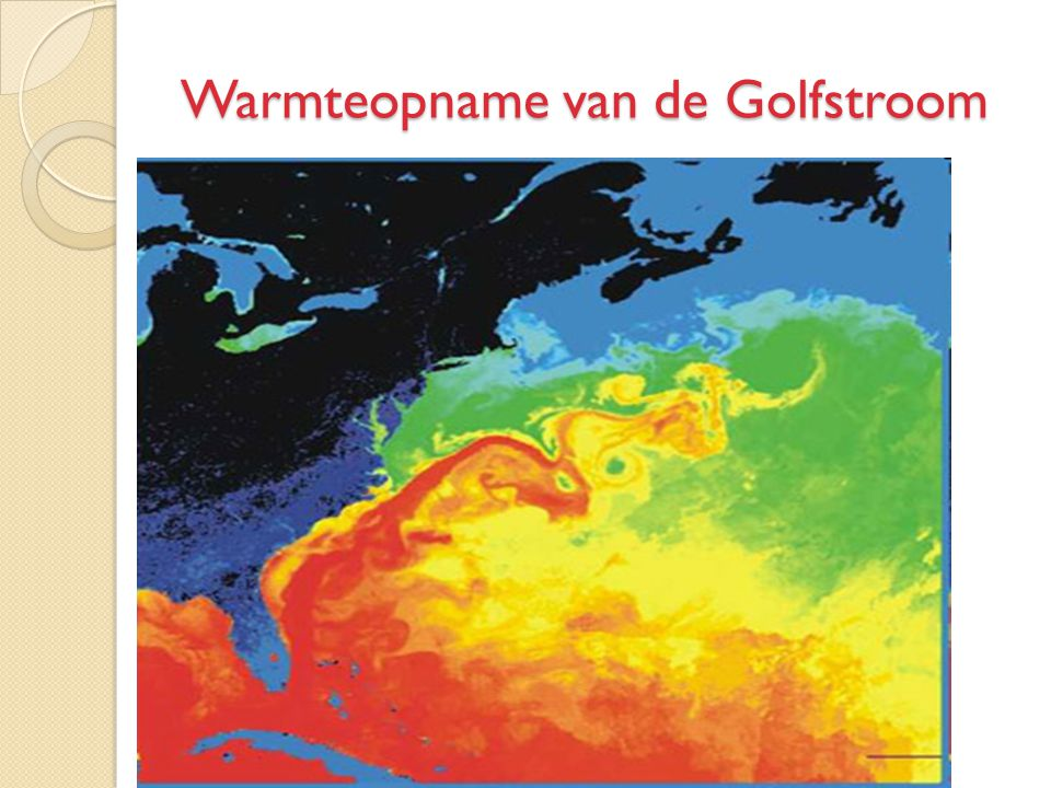 Warmteopname van de Golfstroom
