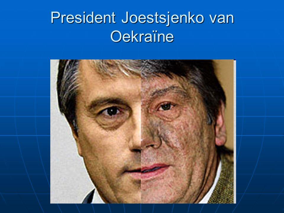 President Joestsjenko van Oekraïne