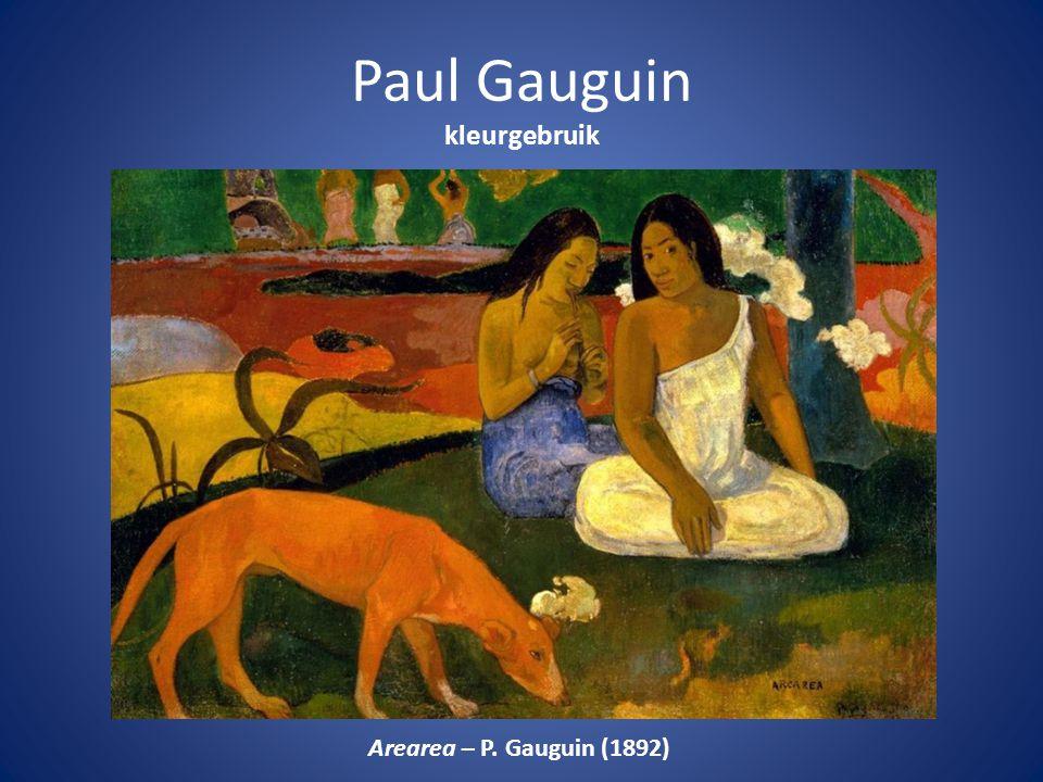 Paul Gauguin kleurgebruik