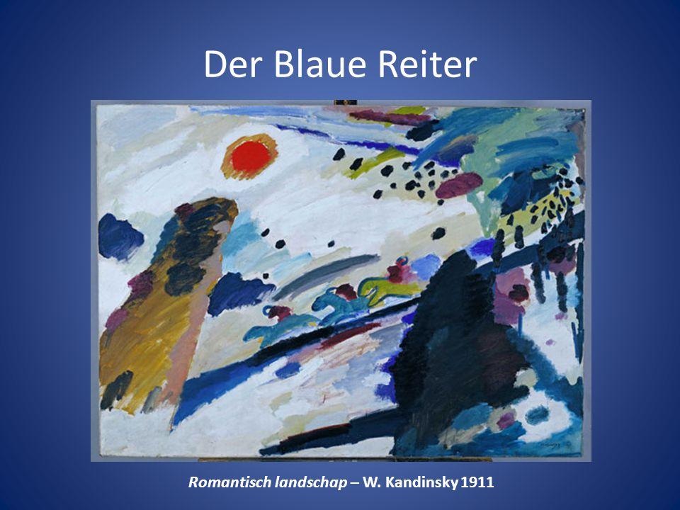 Romantisch landschap – W. Kandinsky 1911