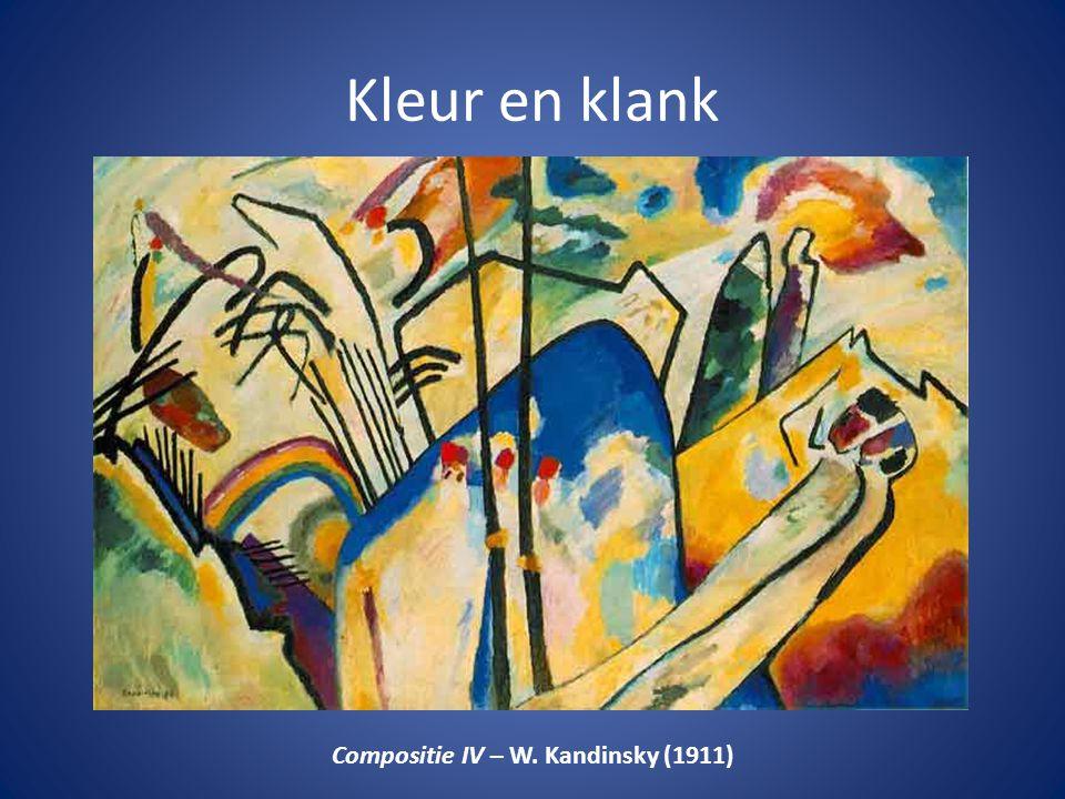 Compositie IV – W. Kandinsky (1911)