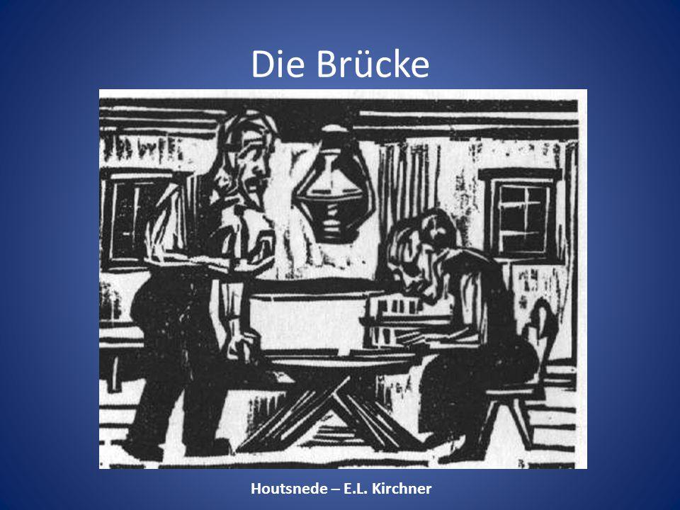 Houtsnede – E.L. Kirchner