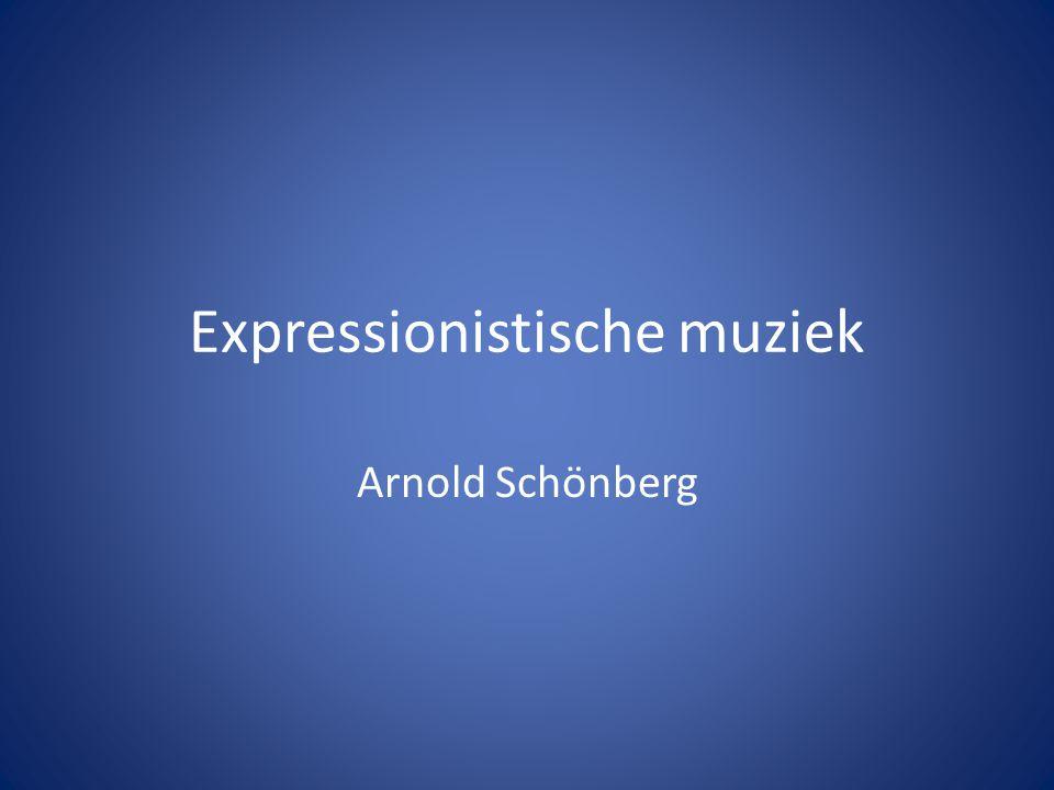Expressionistische muziek