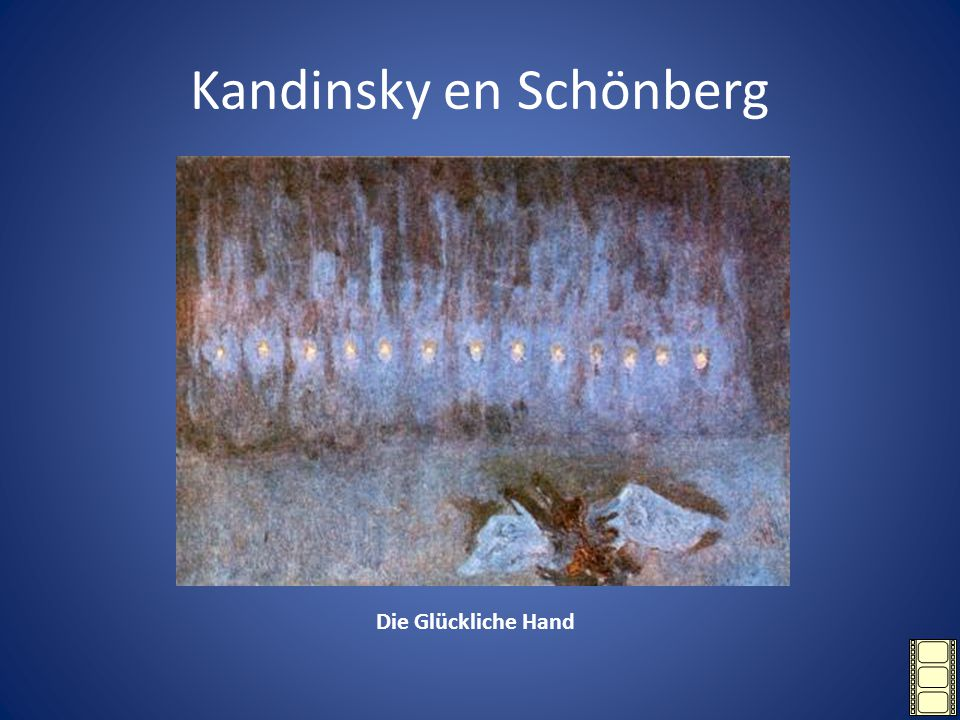 Kandinsky en Schönberg