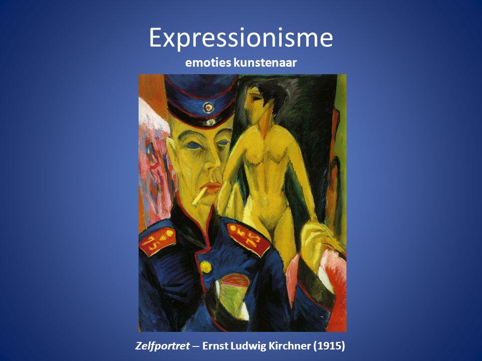Expressionisme emoties kunstenaar