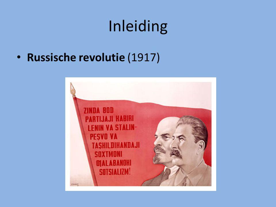 Inleiding Russische revolutie (1917)