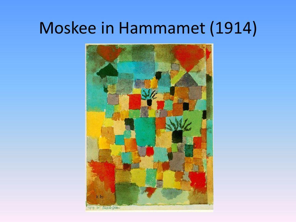 Moskee in Hammamet (1914)