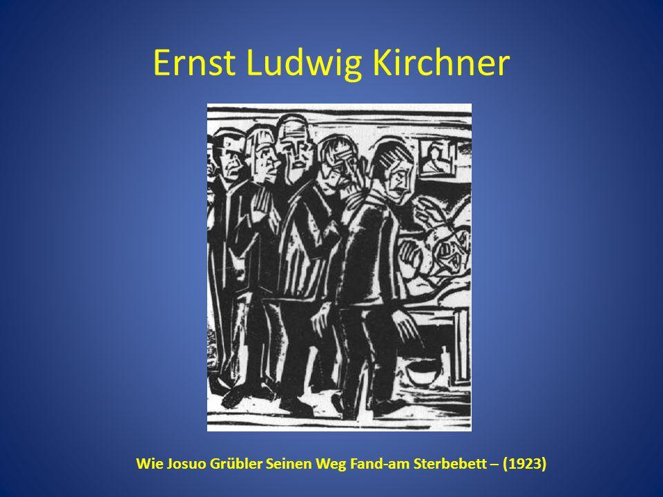 Wie Josuo Grübler Seinen Weg Fand-am Sterbebett – (1923)