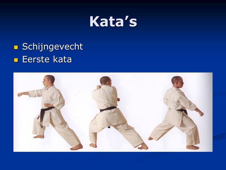 Kata's Schijngevecht Eerste kata