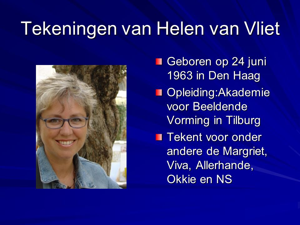 Tekeningen van Helen van Vliet