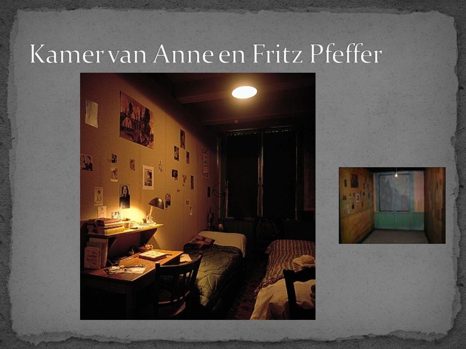 Kamer van Anne en Fritz Pfeffer