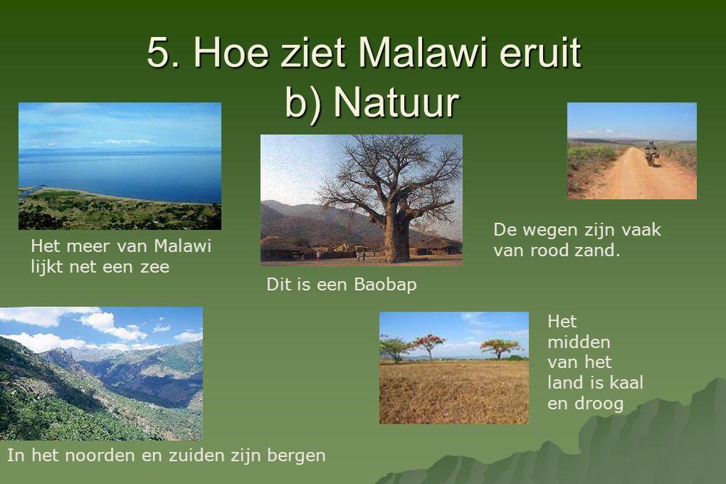 5. Hoe ziet Malawi eruit b) Natuur