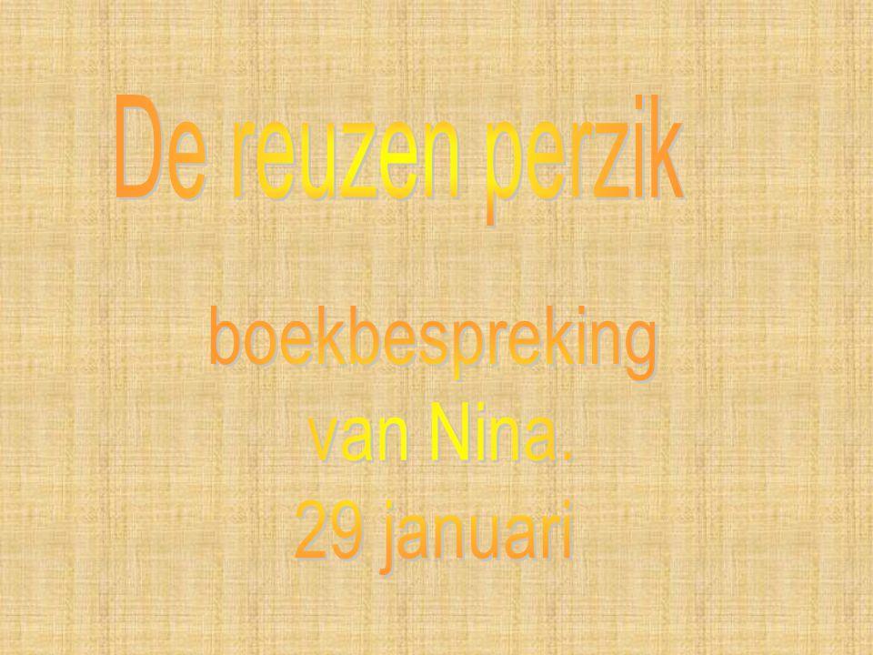 boekbespreking van Nina. 29 januari