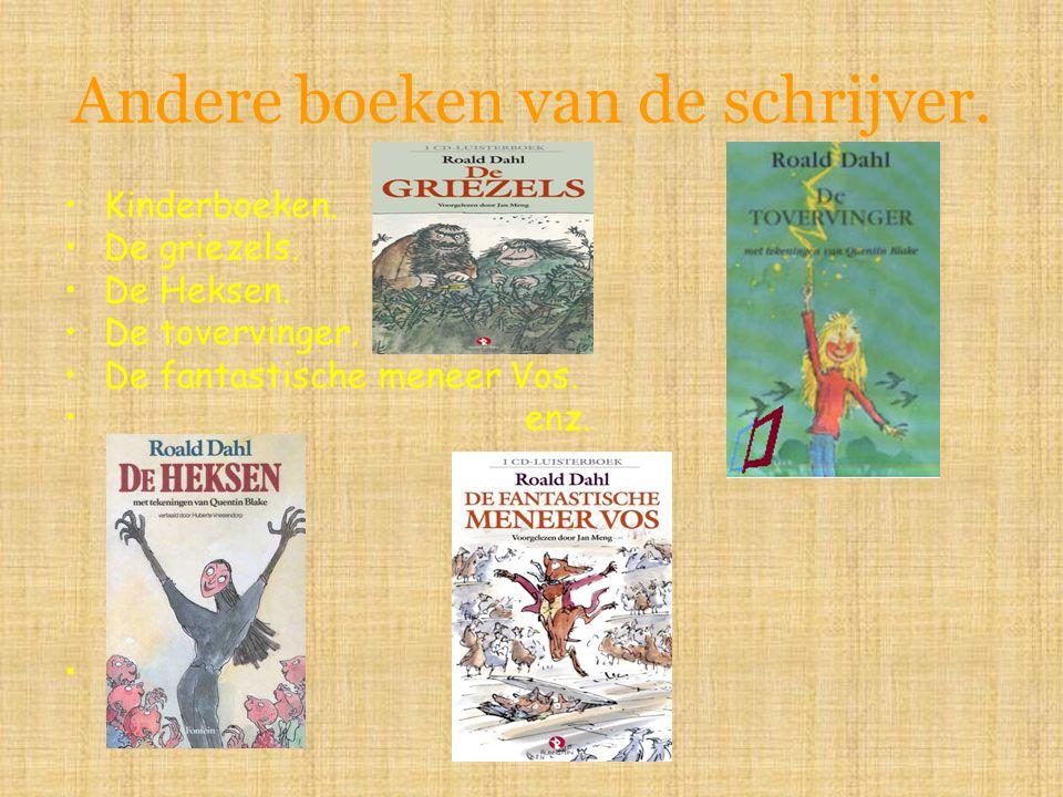 Andere boeken van de schrijver.