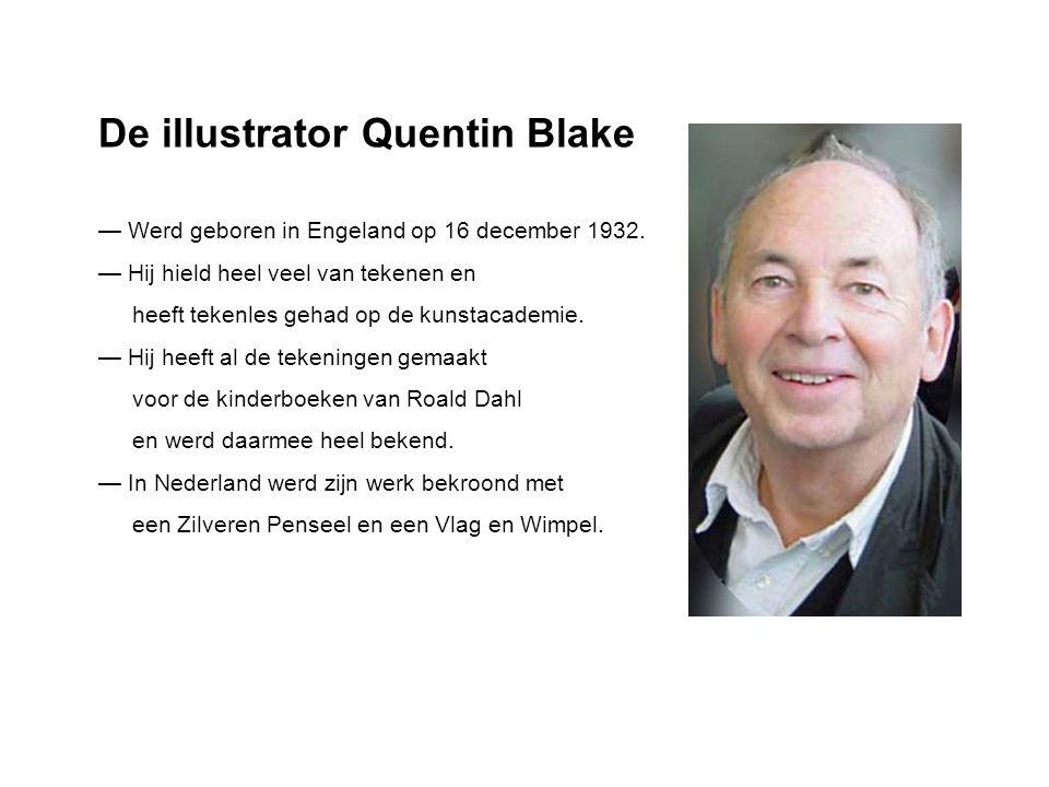 De illustrator Quentin Blake