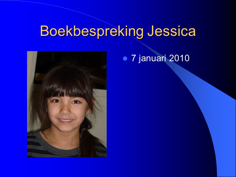 Boekbespreking Jessica