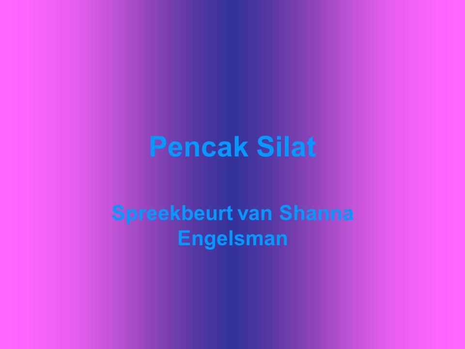 Spreekbeurt van Shanna Engelsman