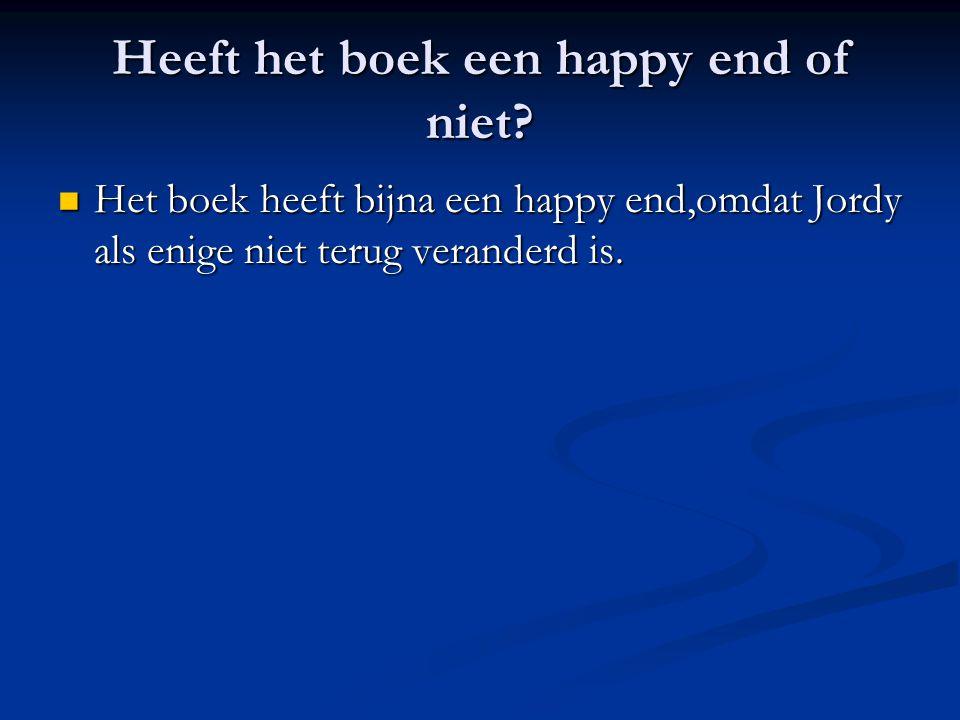 Heeft het boek een happy end of niet