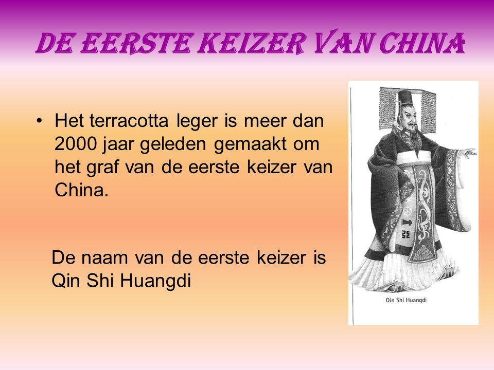 De eerste keizer van China