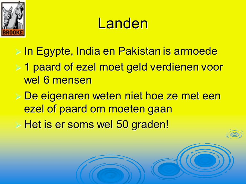 Landen In Egypte, India en Pakistan is armoede