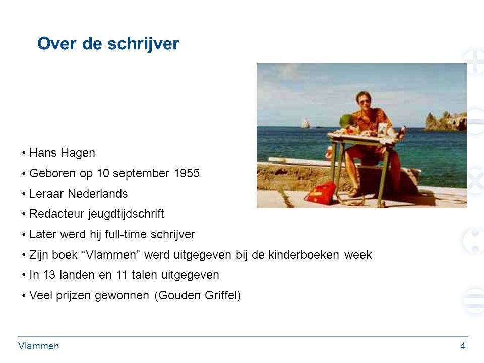 Over de schrijver Hans Hagen Geboren op 10 september 1955