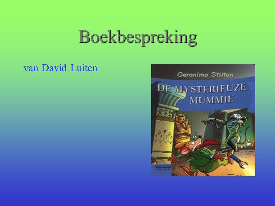Boekbespreking van David Luiten