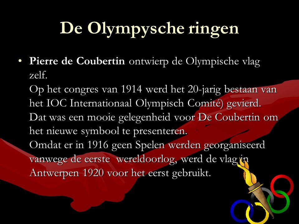 De Olympysche ringen