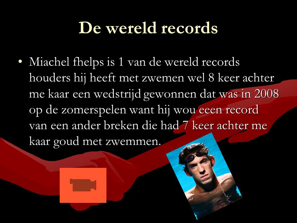 De wereld records