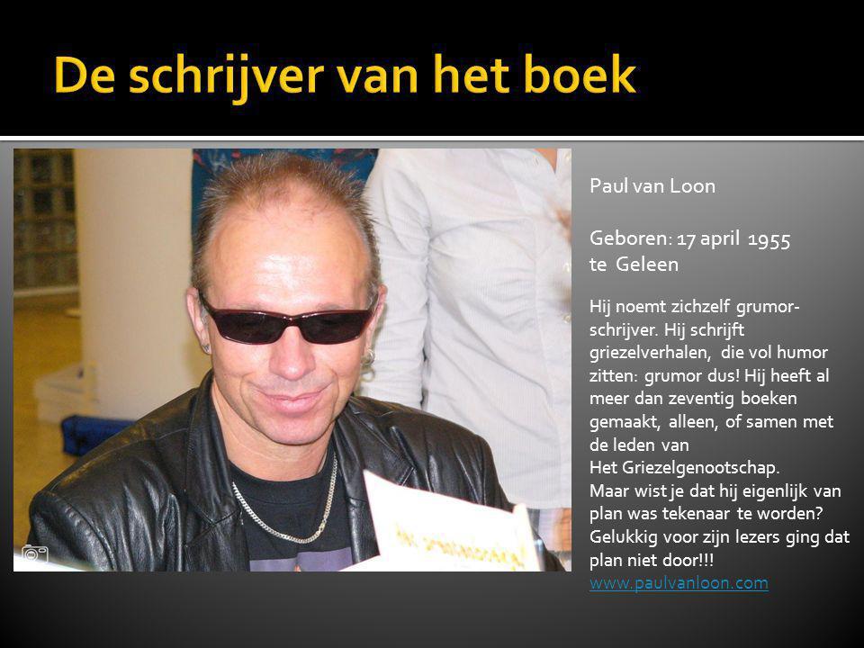 De schrijver van het boek