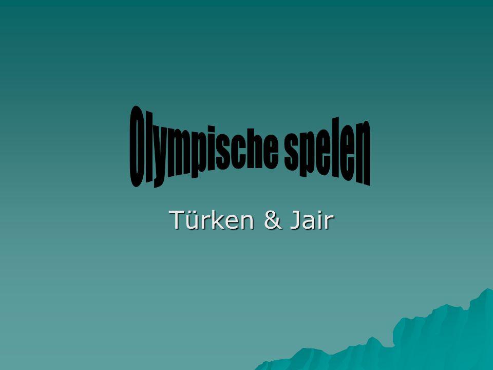 Olympische spelen Türken & Jair