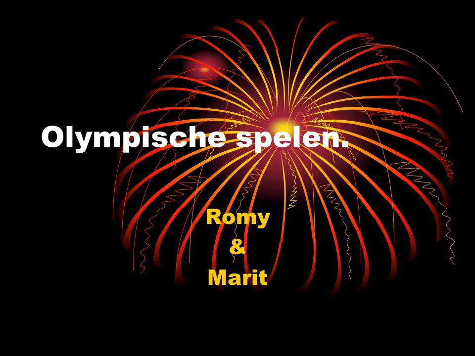 Olympische spelen. Romy & Marit