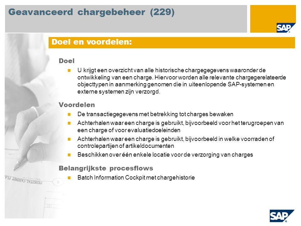 Geavanceerd chargebeheer (229)