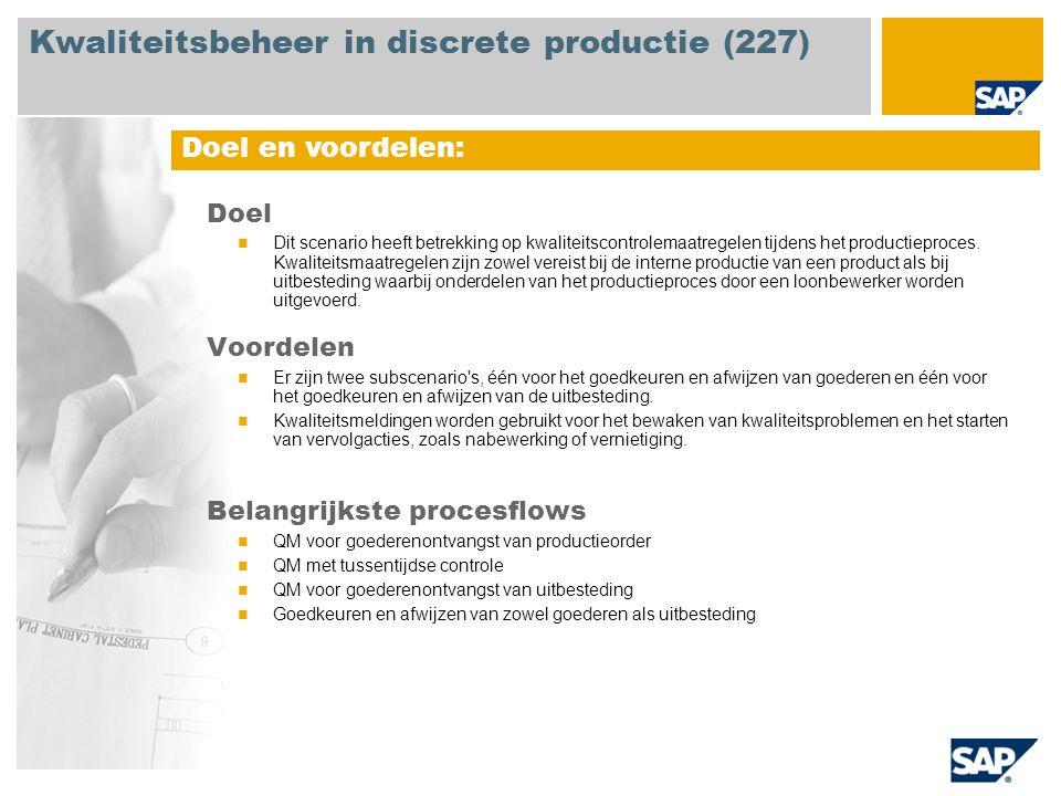 Kwaliteitsbeheer in discrete productie (227)